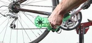 Perform drive-train maintenance on your mountain bike