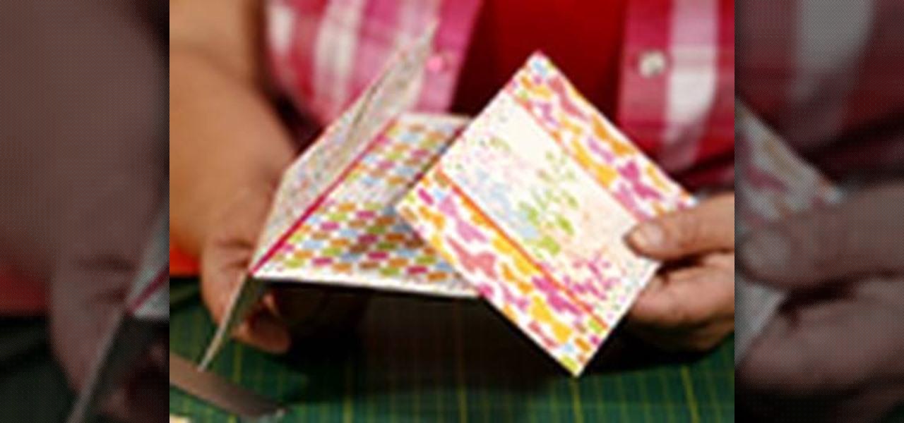 How to Make an endless card  Papercraft  WonderHowTo