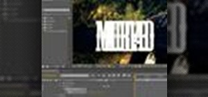 Animate text in After Effects CS4