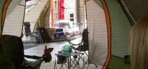 Camp luxuriously