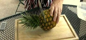 Grow pineapples using the fruit crown