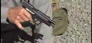 Clear a pistol malfunction