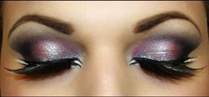 Create an exotic Arabian makeup look on a budget