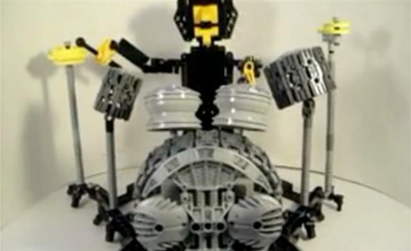 Lego Motorized Ringo Star