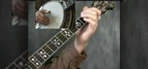 Play Cripple Creek on the banjo