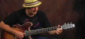 Play funky R&B and blues rhythm guitar