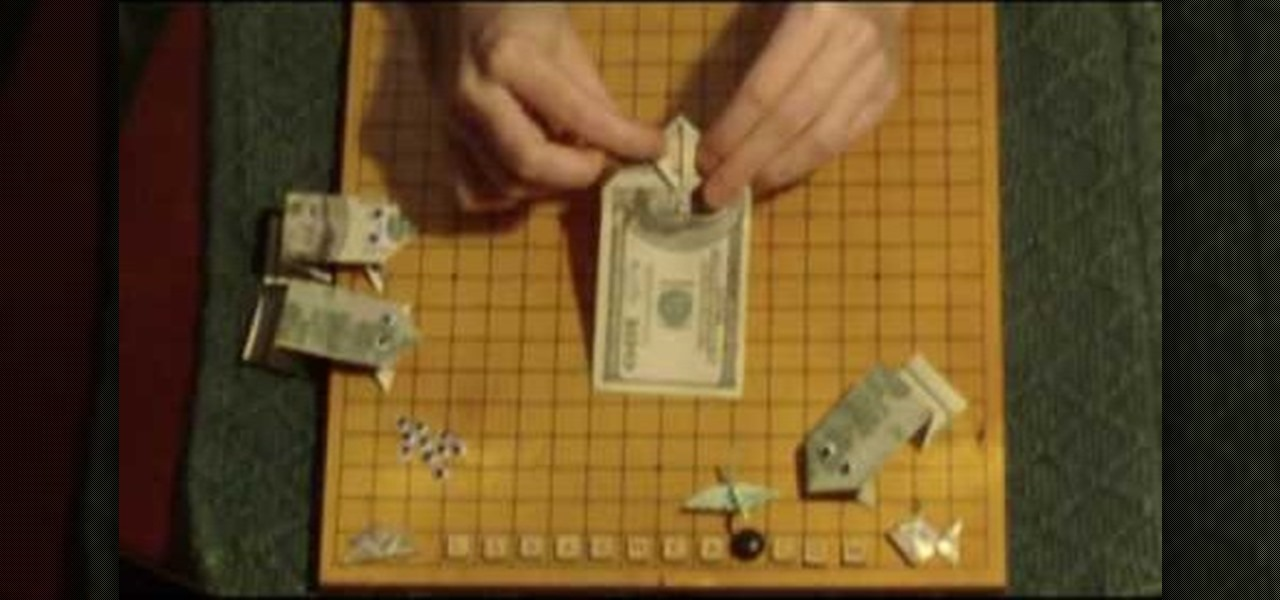 How To Make A Money Origami Frog Origami Wonderhowto