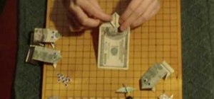 Make a money origami frog