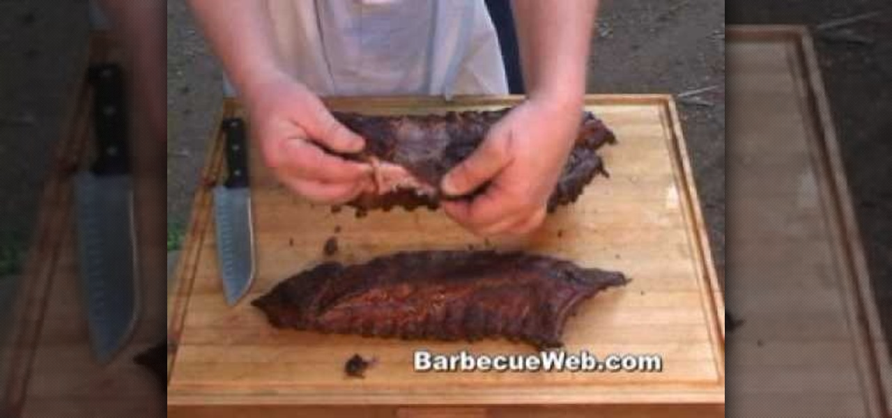 How to Cook and barbecue competition style baby back ribs « Meat ...