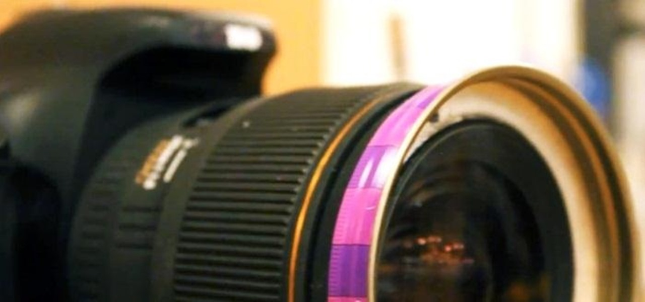 Fix a Camera's Broken Lens Hood Using Peanut Butter (Sort Of)