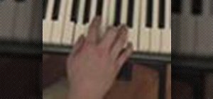 Create tension with piano chords