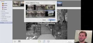 Export iPhoto slideshows as video