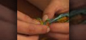 Change thread in crochet for changing colors or joining skeins