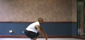 Do an exhausting burpee exercise for a great cardio workout
