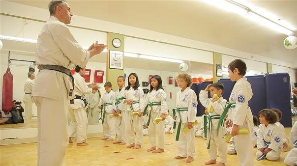 Getting Their Green Belts