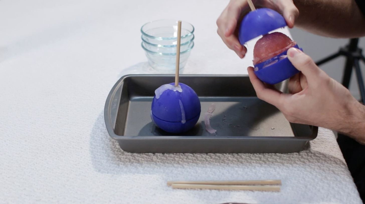 How to Make Star Wars Death Star Popsicles