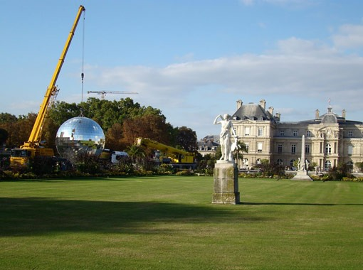Party in Paris (Under the Biggest Disco Ball in the World)