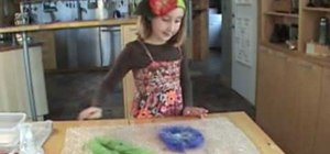 Make a felt flower accessory