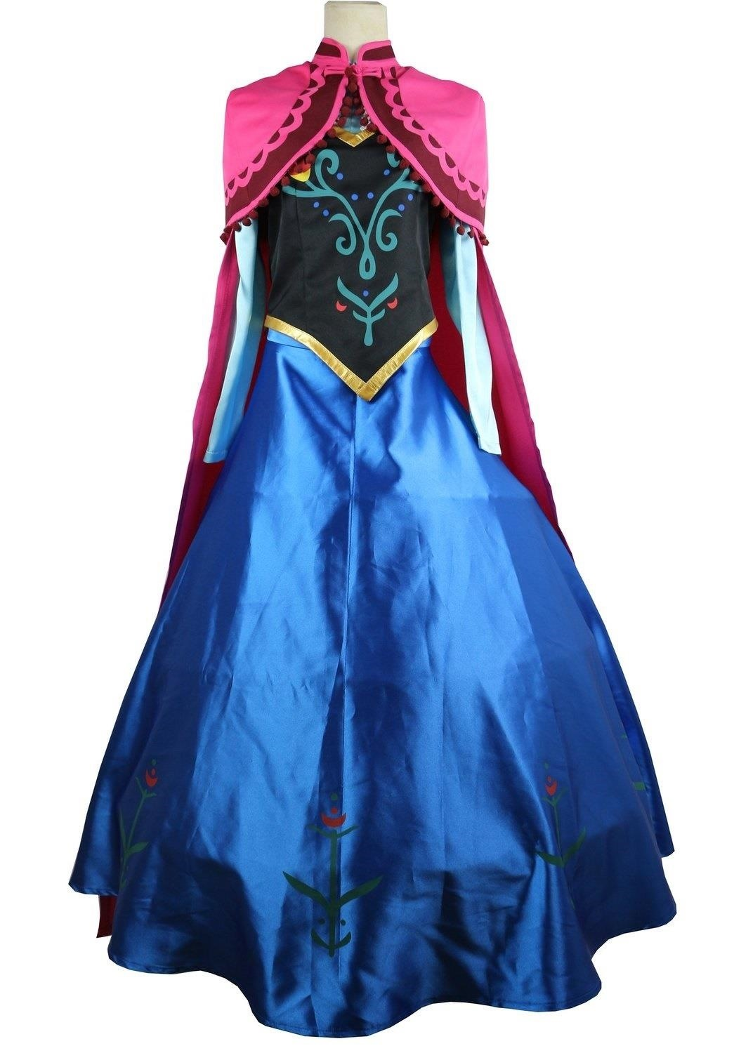 Diy princess anna costume makeup from disneys frozen halloween dont have time for diy just buy solutioingenieria Choice Image