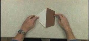 Fold an origami duck