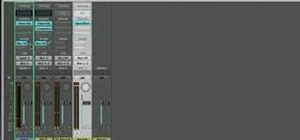 Use aux effects send in Logic Pro