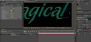 Create handwriting in After Effects