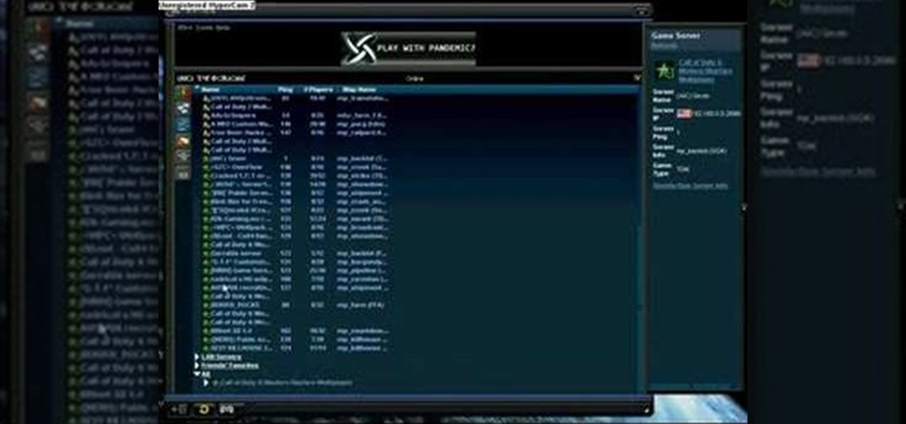 How to Make a Call of Duty 4 working server « PC Games