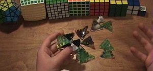 Disassemble and reassemble the Rubik's UFO puzzle