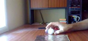 Make a simple ping pong smoke bomb with one ball