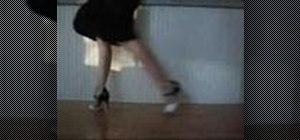 Dance the Tango Ochos with Cha Cha Cha embellishments