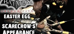 Find the 'Scarecrow' easter egg hidden in Batman: Arkham Asylum
