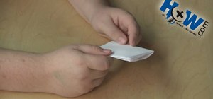 Make a pocket mod or mini-book from a piece of paper