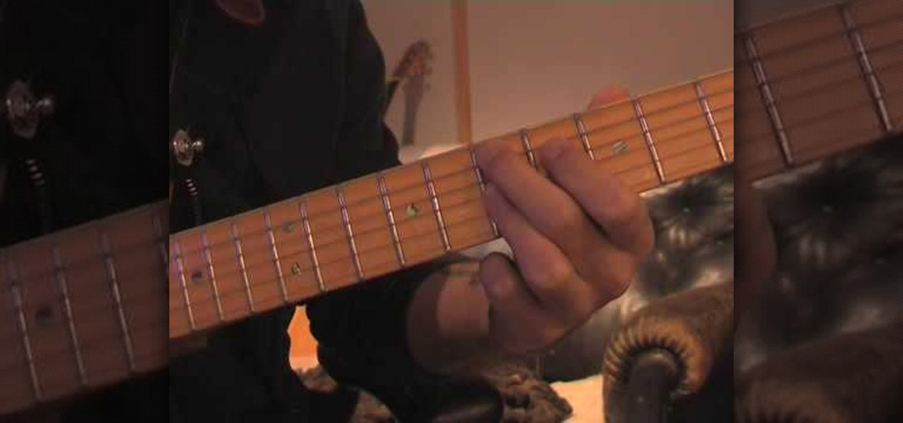How to Play funk chords on the guitar « Acoustic Guitar :: WonderHowTo