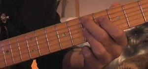Play funk chords on the guitar