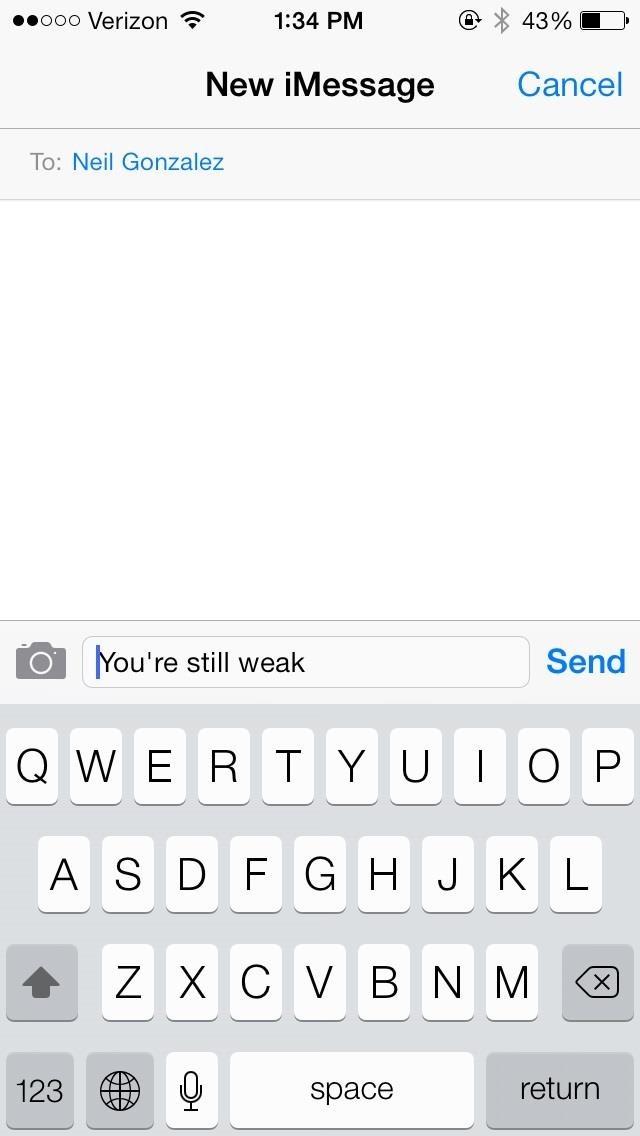 Mẹo bẻ khóa: Hướng dẫn truy cập màn hình khóa của iPhone bằng cách sử dụng Siri trong iOS 7.0.2 để gửi tin nhắn