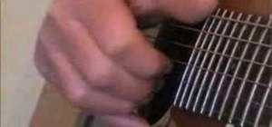 Use Delta blues-style rhythm on acoustic guitar