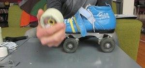 Changeyour roller skate  wheels