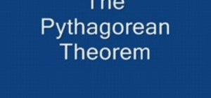 Use the Pythagorean Theorem in basic geometry