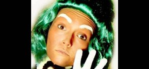 Create the Oompa Loompa look with makeup