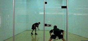 Be deceptive with your serves in raquetball