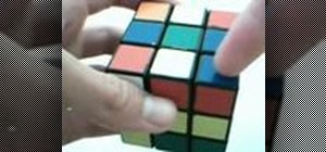 Solve a Rubik's Cube blindfolded