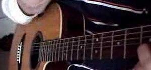 """Play """"Nkauj Hmoob Zoo Nkauj"""" by WhyteShadows on guitar"""