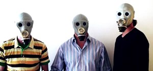 Turn your gas mask into a kazoo