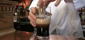 Make a smooth and creamy Irish car bomb