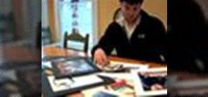 Create an artist portfolio