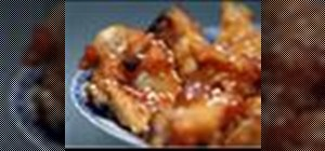 Make baked teriyaki chicken wings