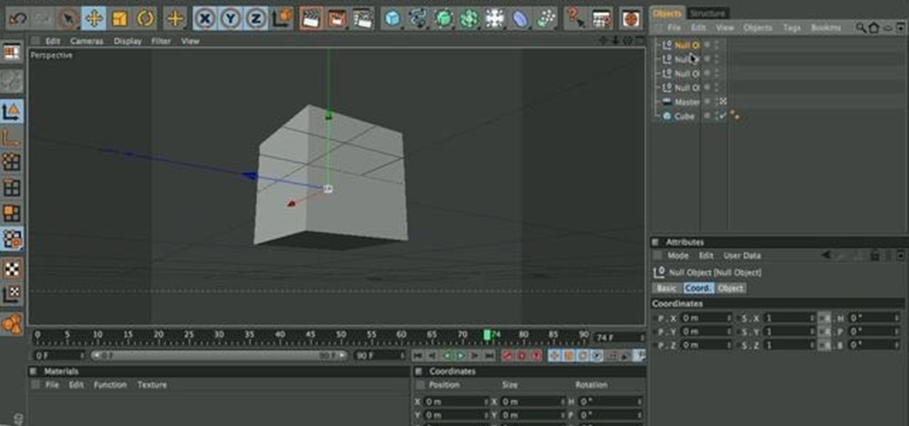 how to use cinema4d camera