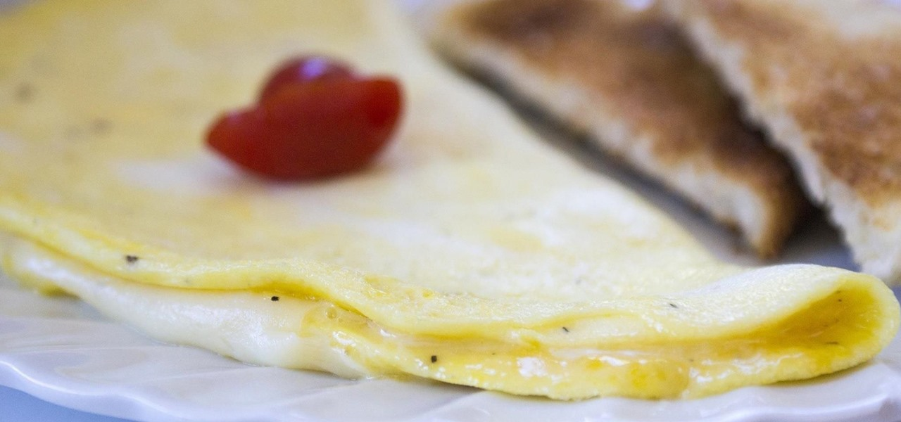 The Proper Way to Make a French Omelet