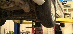 Replace the rear shocks on a 1997-2005 Pontiac Transport or Chevy Venture