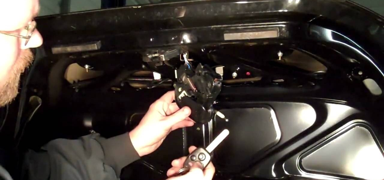 How To Repair A Car Trunk That Won T Open Auto Maintenance Repairs Wonderhowto